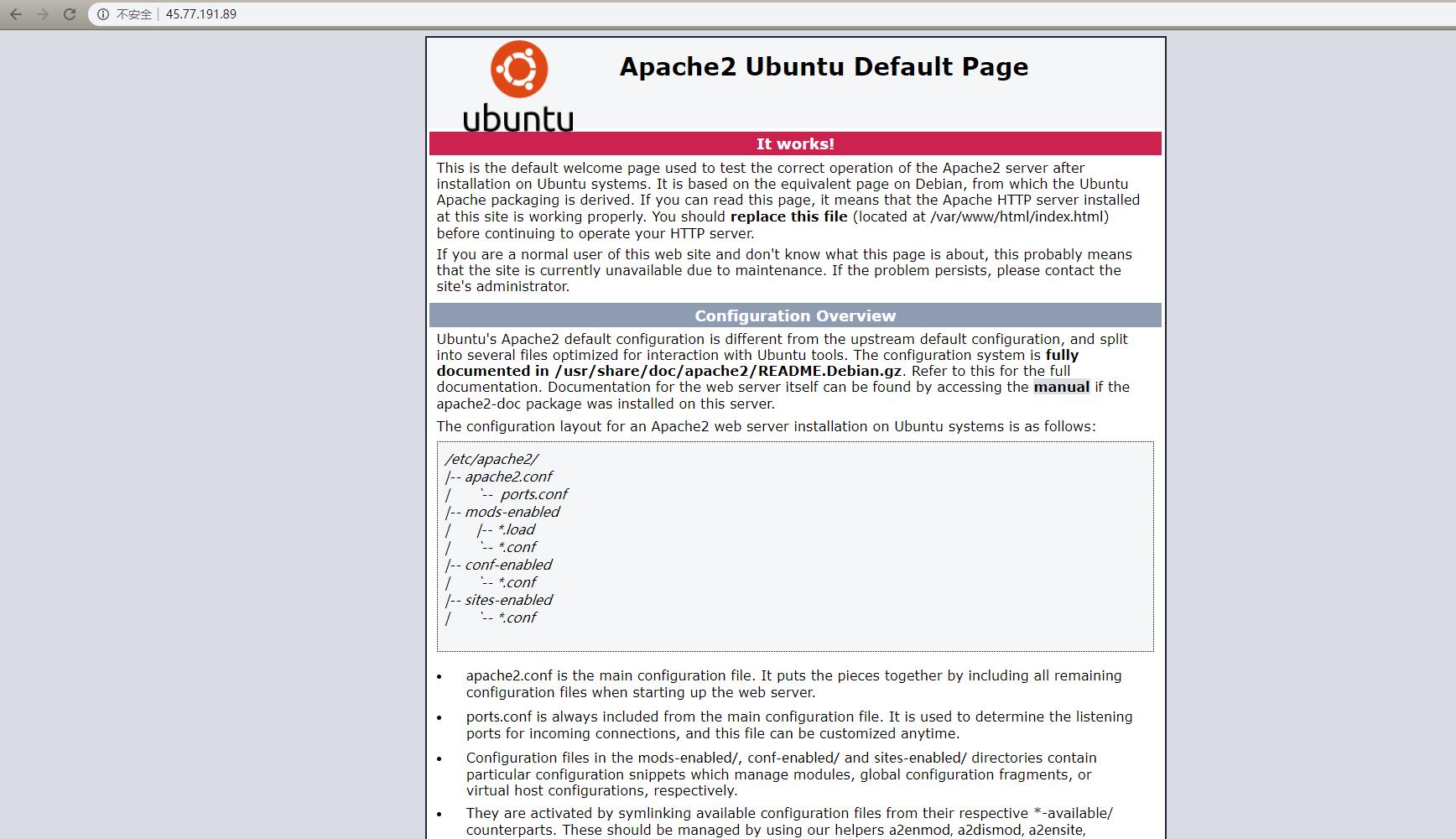 apache-homepage